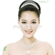 Wholesale Mini wedding hair sale tiara crown