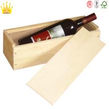 Hölzernes Geschenk Rotwein-Kasten mit konkurrenzfähigem Preis