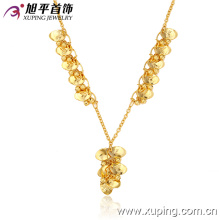 42070 Xuping fashion jewelry Southeast Asian style small rounds chain necklace