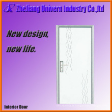 Portes intérieures en bois avec revêtement en PVC