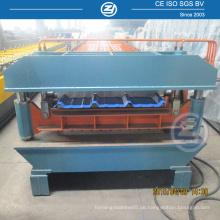 Doppelschicht-Stahlprofil-Rollenformmaschine