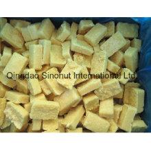 Jengibre molido congelado de alta calidad con el bloque