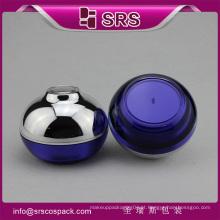 Frasco de pintura azul luxo, alta qualidade e bom preço frasco de creme 50 ml