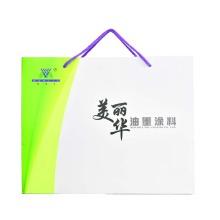 Portable custom-made paper bag