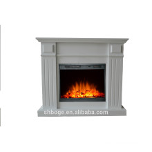Revêtement de peinture MDF cheminée