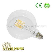 G125 6.5W Claro Dim E27 220V Luz de trabajo LED Filamento Bombilla