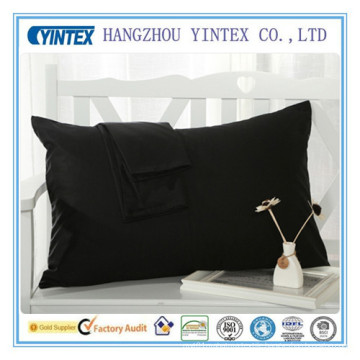 Hotel 100 Cotton White Private Label Pillow Case / Pillow Sham