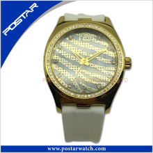 Watch Manufacturer of Stainless Steel Watch with IP Gold Plating