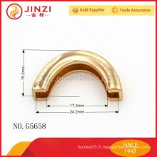 Poitrine en alliage de zinc en cuir de haute qualité pour hommes G5661