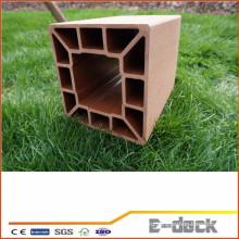 Легко установить высококачественный сад wpc забор пост wpc панель wpc pillan