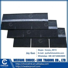 residential roof tile colorful 3-tab asphalt shingle