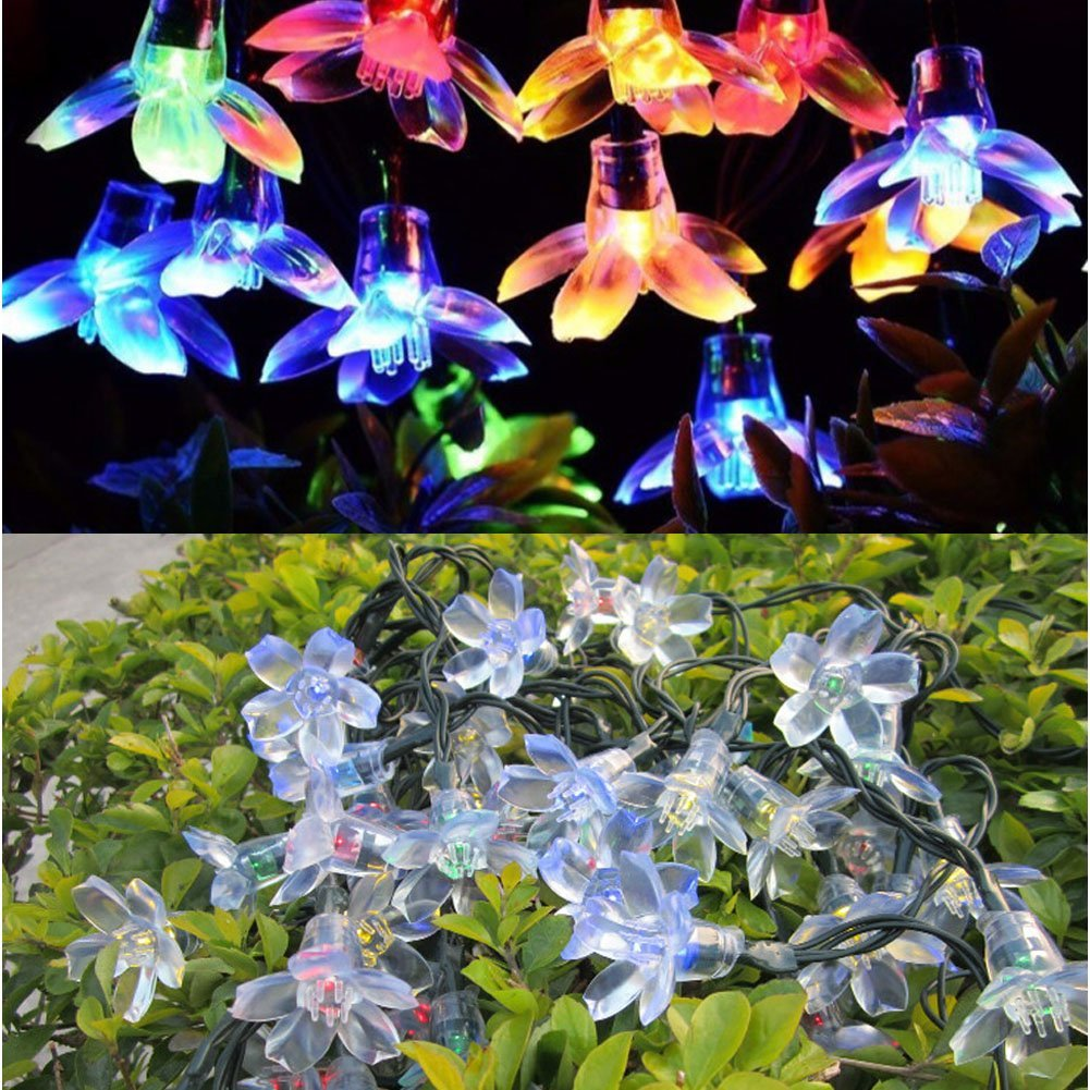 LED Solar Powered Lights String