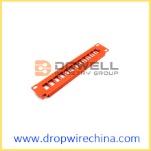 10 inch 12 port blank patch panel