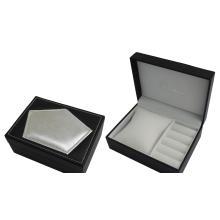 Caixa de relógio de embalagem de papelão com pequena almofada interna