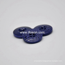 Enamel Polyester Button with High Quality