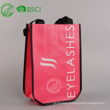 Eco reutilizável personalizado laminado pp não tecido saco