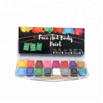 Baik Grade 16 Colors Face Paint Kit Bulk