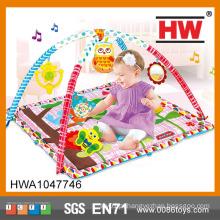 Mais recente multi-função bebê jogar instrumento musical tapete para crianças