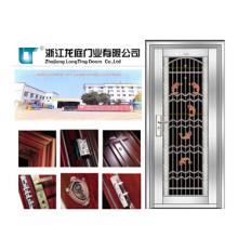 Porta de aço inoxidável de segurança para o exterior (LTSS-1018)