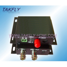 Transmisor / convertidor óptico de la TV de HD / SD-Sdi Digital