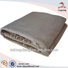Couverture de selle de soie 100% soie