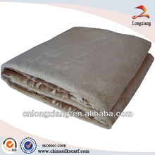 100% silk western saddle blanket