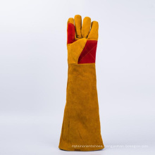 High impact resistant leather safety  glove ce gloves working