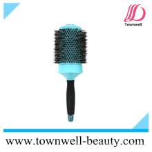 Профессиональная нейлоновая и кабанская щетина Смешанная сильная стильная круглая щетка для волос