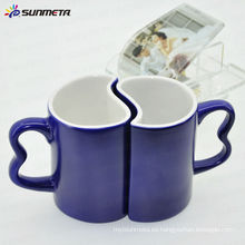 Tazas cambiantes de los pares del color 11oz taza de café