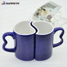 11oz couleur changeant des tasses à café