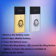 Smarthome wireless doorbell EVD-H6T
