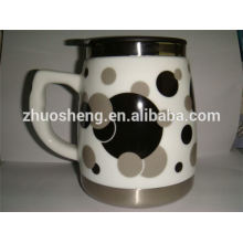 Bestseller-Produkt made in China Kaffeebecher Großhandel Sublimation Keramik-Becher