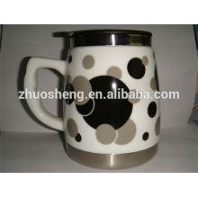 Best-seller produto feito na caneca cerâmica da china café caneca sublimação por atacado