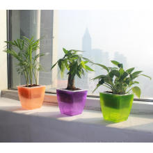 (BC-F1027) Fashionable Self-Watering Plastic Flower Pot