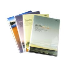 Tamanho 254 * 177mm PVC Cover Notebooks