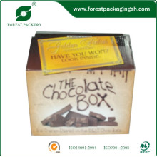 caixa da caixa da impressão do off-Set para o chocolate