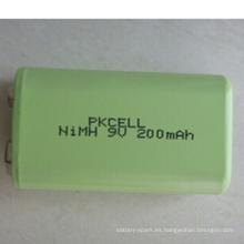 Baterías de Ni Nh Baterías 9V 200mAh 200mah Ni-mh