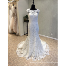 Meerjungfrau Spitze Braut Abend Brautkleider