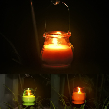 Gardon glass jar bug odio citronella aroma vela