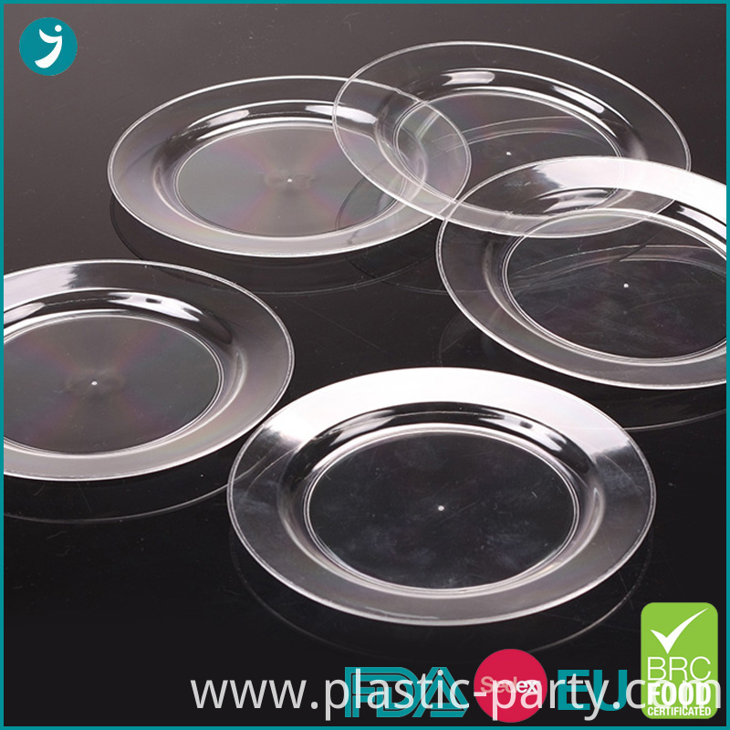 Disposable Plastic Plates Round