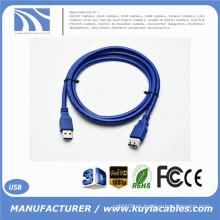 USB 3.0 de alta velocidad de la alta calidad un varón al cable de extensión femenino NUEVO