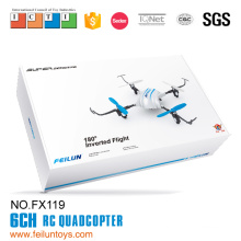 2016 New 2.4G 4-axis ufo aircraft quadcopter 3D inverted flight rc drone RTF