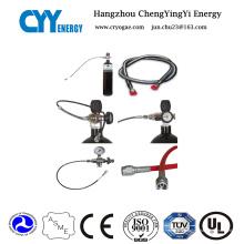 Cyyfh31 Tuyau de remplissage à cylindre à gaz haute qualité et à pression