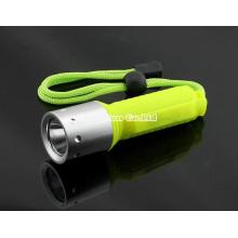Lanterna de mergulho XPE-T6, uma lanterna super poderosa