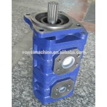 WA450-1/WA470-1/PC60-1 Wheel Loader hydraulic gear work pump 705-12-34210,705-52-20100 STEERING PUMP, Transmission Pump,