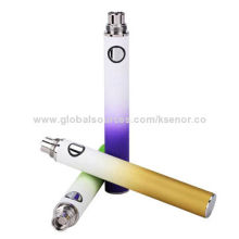 Electronic Cigarette Rainbow EVOD Battery with Blister Pack