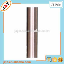 shower curtain tension rod stainless nickle, wholesale metal curtain rod set curtain pole