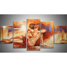 Figures Oil Painting on Canvas for Decor (FI-023)
