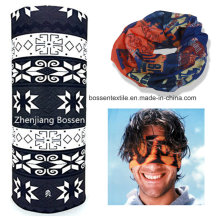 Promotional Custom Polyester Buff Style Multi Purpose Seamless Headscarf