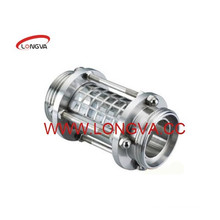 Stainless Steel Threaded Inline Sight Glass